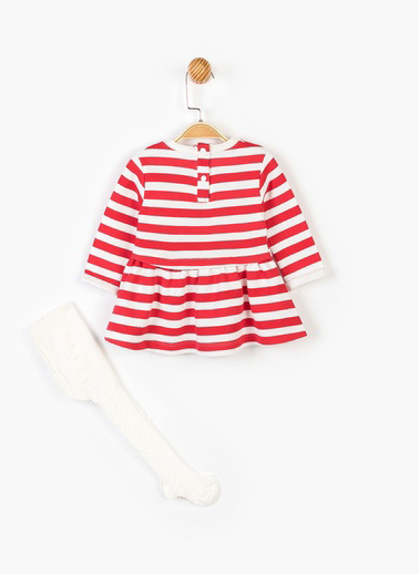 Mickey Mouse Elbise Kırmızı